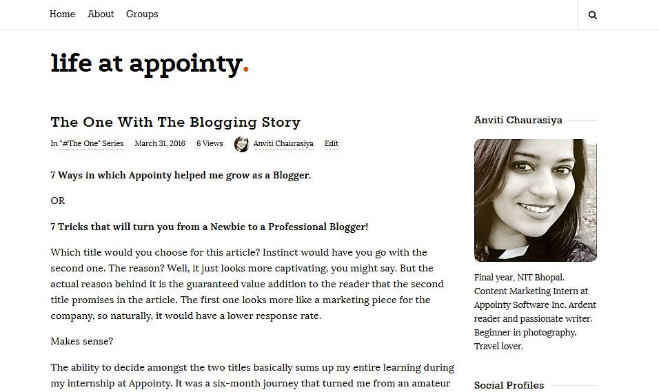 blog, blogger, blog profiles