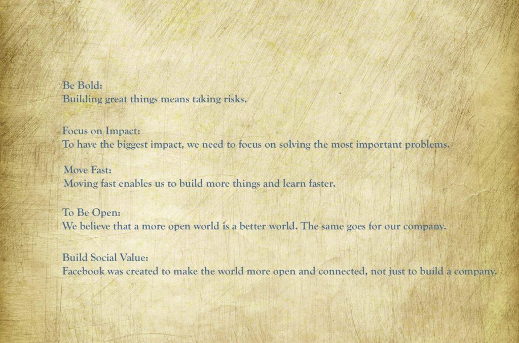 facebooks-values